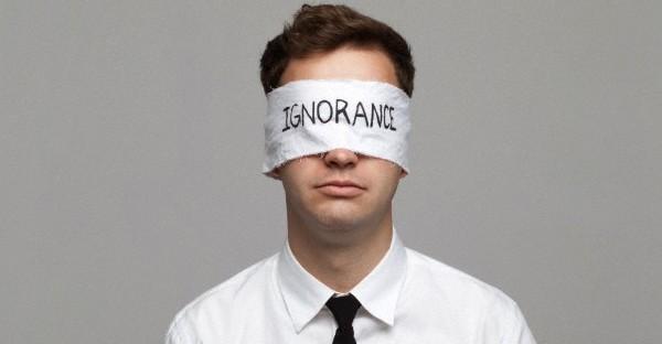 Quand l'ignorance met votre curiosité en prison!